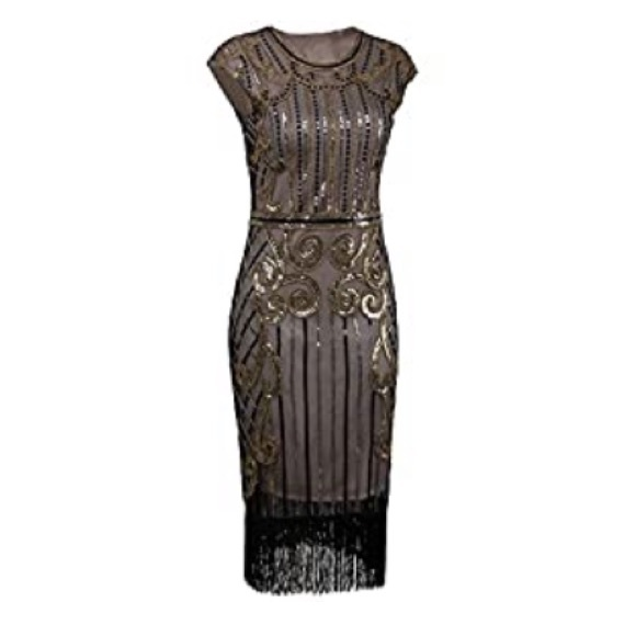 192s Vintage Inspired Sequin Gatsby